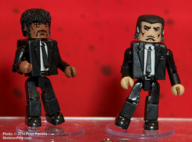 diamond select toys, mini-mates, pulp fiction, quentin tarantino