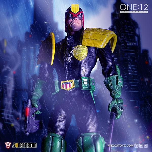 mezco toyz, one:12 collective, judge dredd