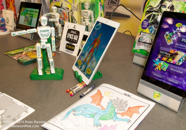 crayola, sketch wizard, ny toy fair 2015, 3d figures, 3d systems, animation studio