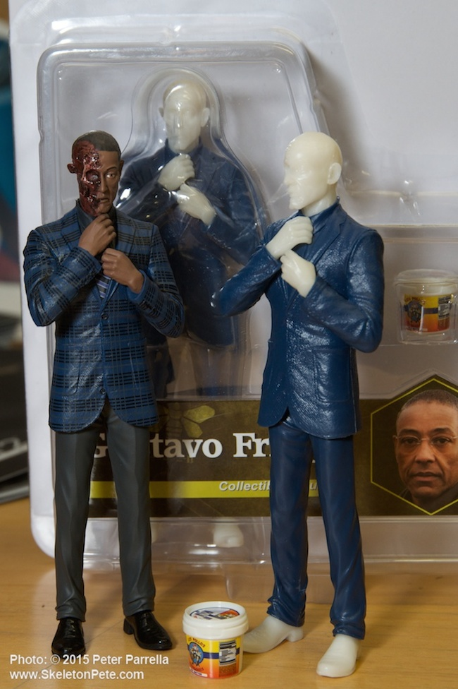 mezco toyz. breaking bad, bobbleheads, amc series, better call saul, gustavo fring, toy fair 2015