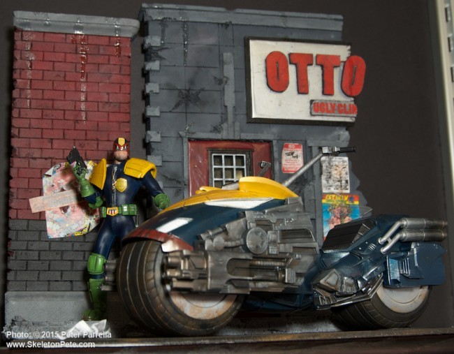 mezco toyz, judge dread, one:12 collective, DC universe