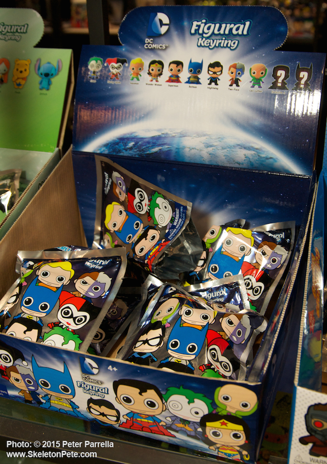monogram international, toy fair 2015, marvel, dc comics, key rings, bust bank