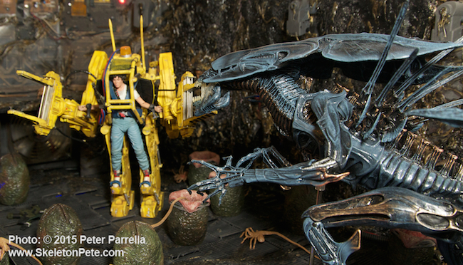 neca, alien, action figures, ellen ripley, alien queen