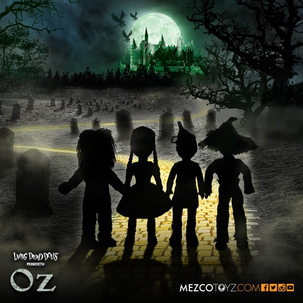 wizard of oz, living dead dolls,  mezzo toys