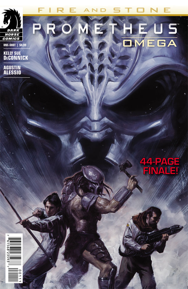 dark horse comics, prometheus, fire and stone, alien, predator