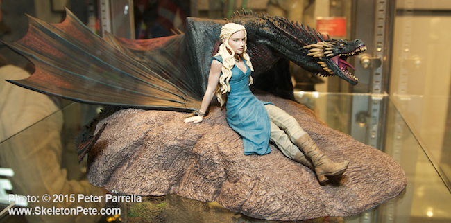 daenerys, drogon, game of thrones, dark horse collectibles, brienne of garth