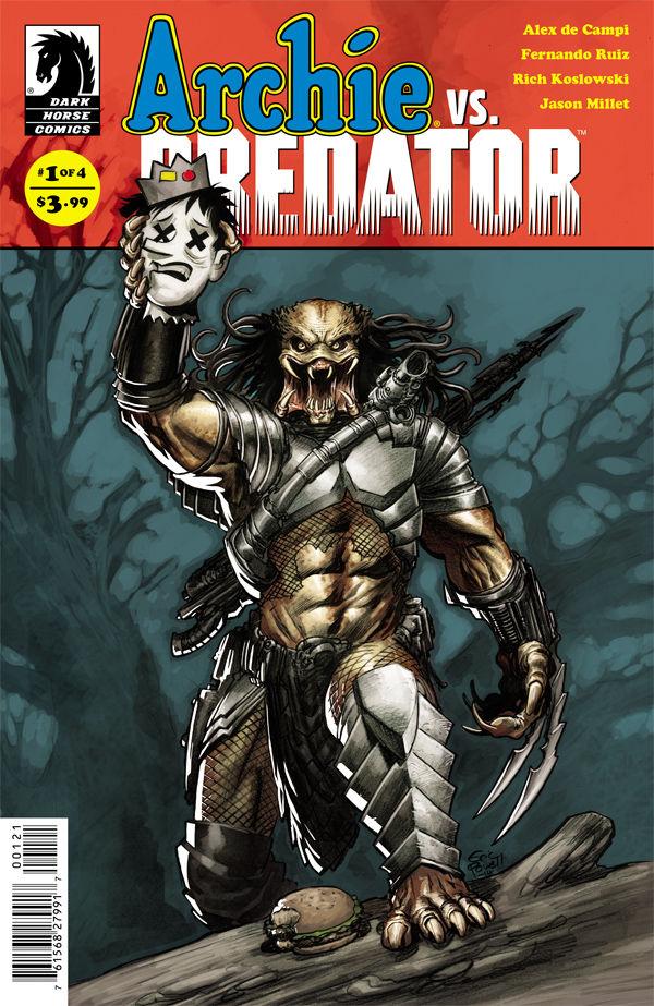 archie vs predator, dark horse comics