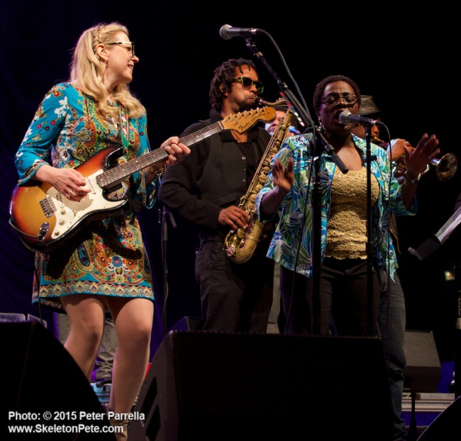 city parks foundation, derek and susan, central park summer stage, tedeschi trucks band