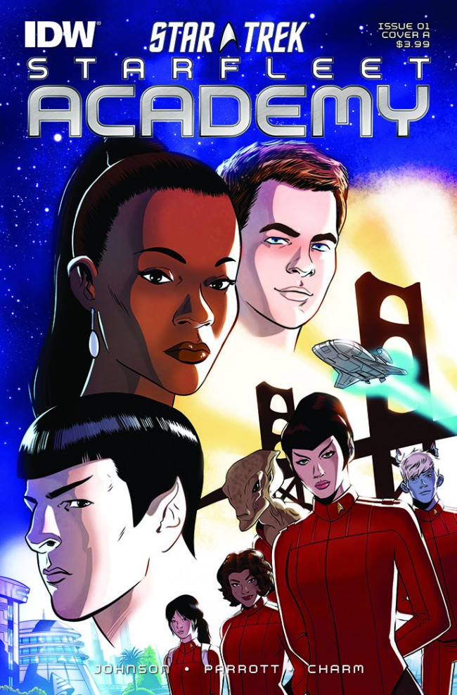 star trek, ida publishing, star fleet academy, spock, kirk, uhura