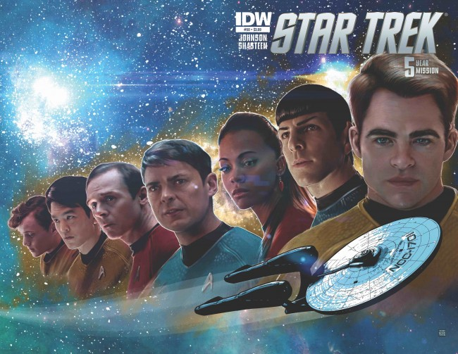 idw publishing, star trek, tony chasten
