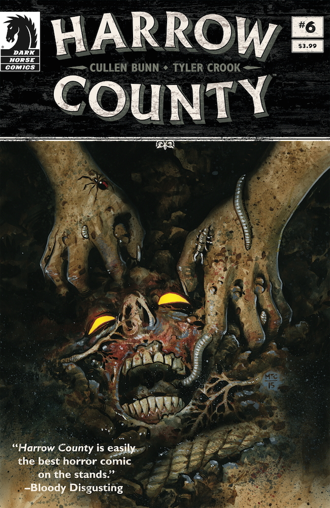 harrow county, dark horse comics, cullen bunn, tyler crook