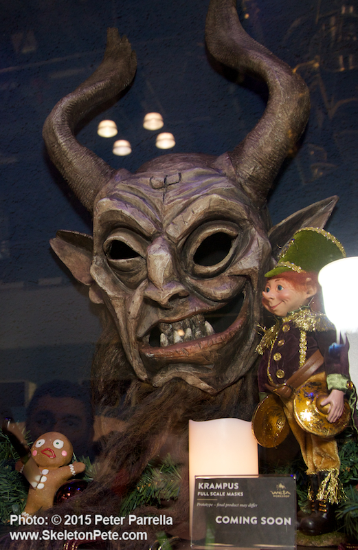 ripleys believe it or not, auditorium, krampus, mike drake, WETA, universal pictures, legendary pictures