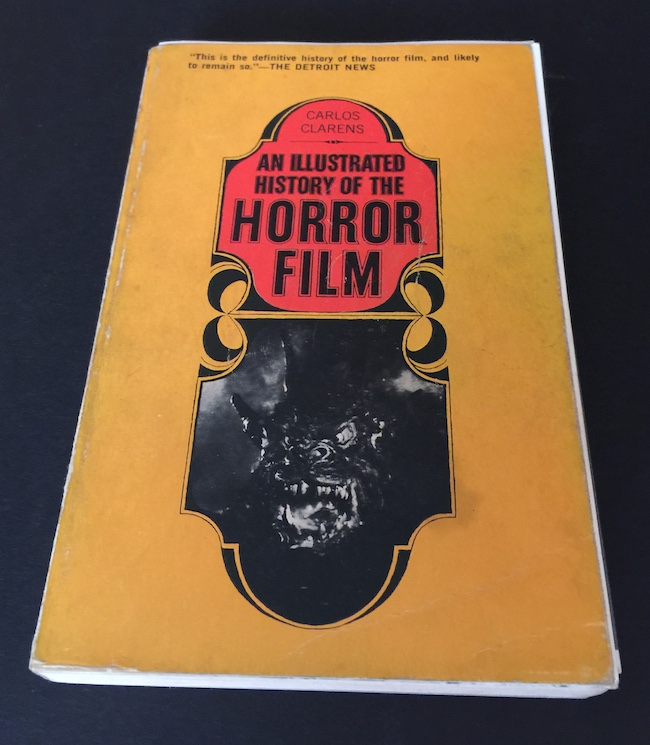 criterion, criterion blog-a-thon, vampyr, carl theodr dreyer, illustrated history of the horror film, carlos clarions