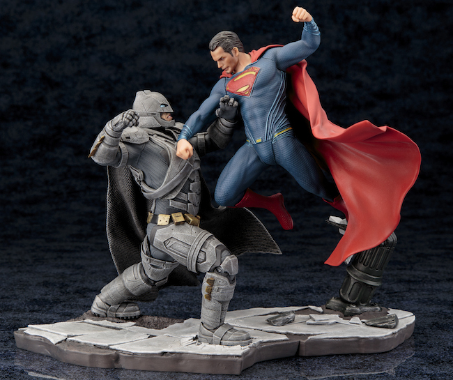 kotobukiya, batman vs. superman, dawn of justice, dc comics