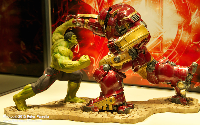 kotobukiya, avengers 2, artfx+, hulk, hulk buster iron man,
