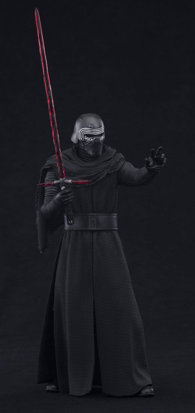 kylo ren, the force awakens, kotobukiya, artfx+