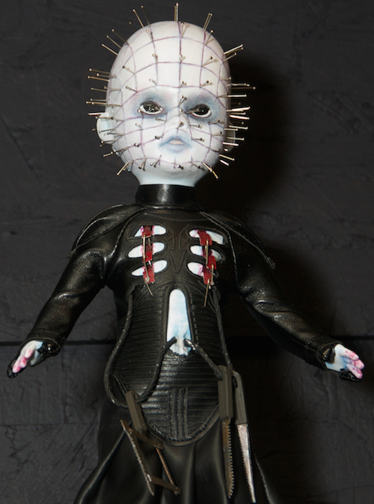 living dead dolls,  hell raiser, pinhead, mezzo toys, ldd series 31