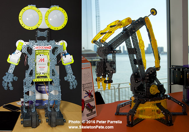 toy industry association, toy fair, the toy bank, the toy foundation, mecanoid g-15, spin master, hex bugs, vex robotic arm