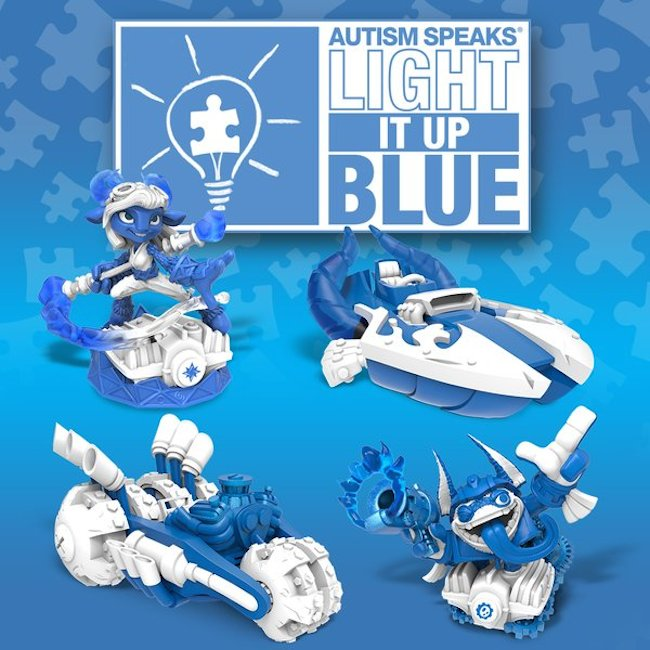 skylanders, autism, autism speaks, activision
