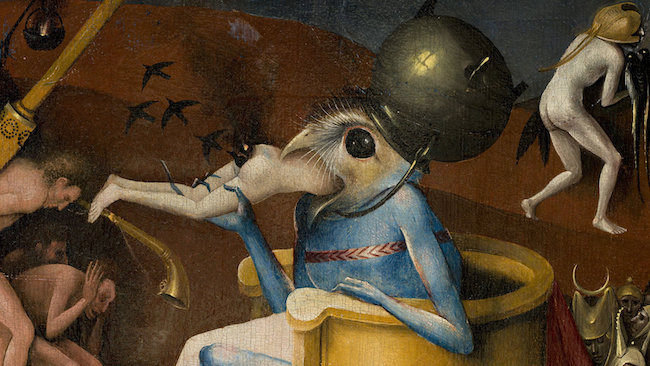 hieronymus bosch, touched by the devil, pieter huystee