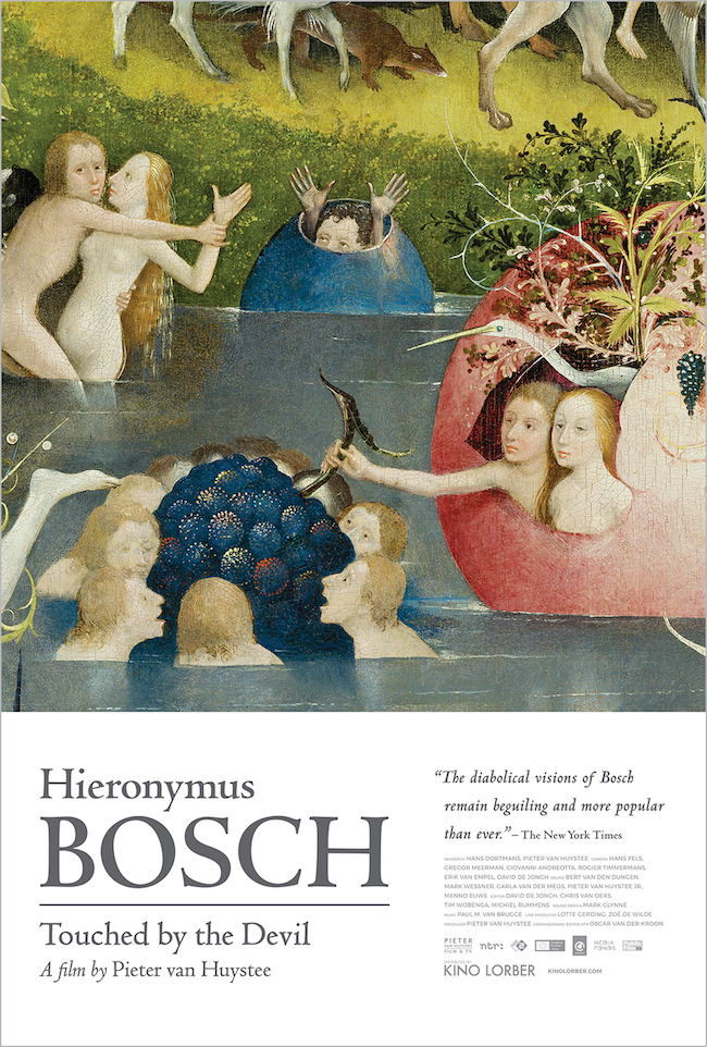 heironymus bosch, touched by the devil, pieter huystee