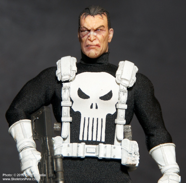mezco toys, one:12 collective, the punisher, marvel comics
