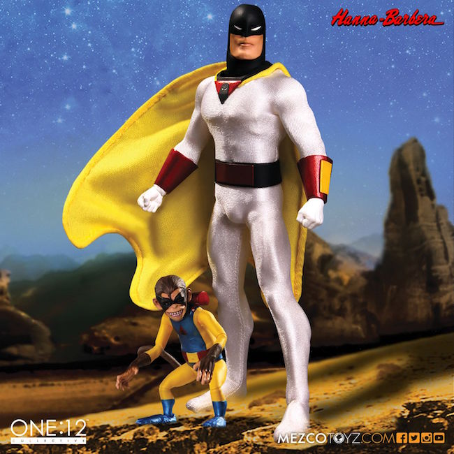 space ghost, mezco toyz, one:12 collective, hanna-barbera productions