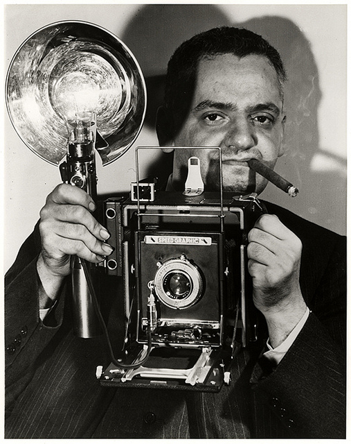 "Arthur ""WeeGee"" Fellig had a clairvoyant knack for capturing the moment."