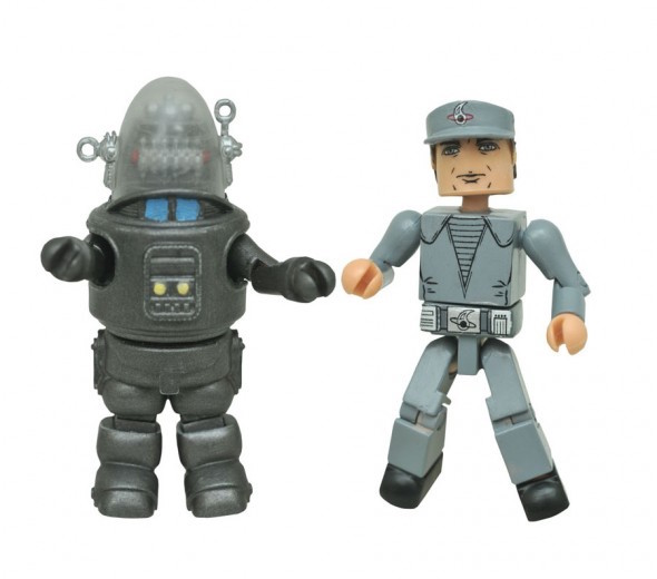 diamondl select toys, forbidden planet, minimates