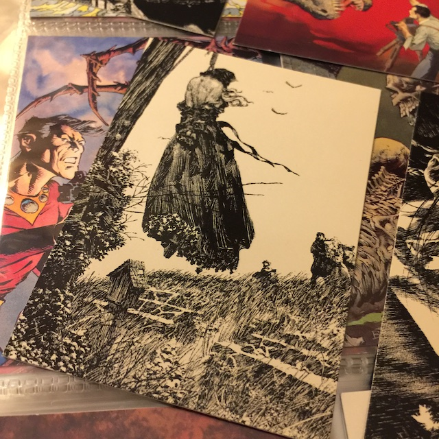 bernie wrightson. hermes press, sdcc17