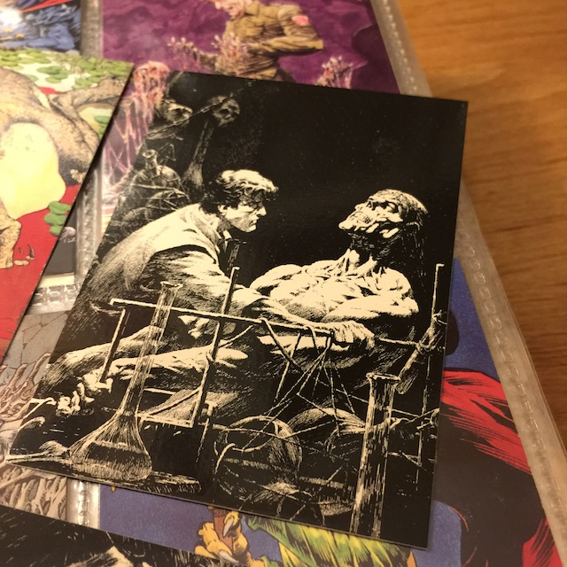 bernie wrightson, hermes press, sdcc17