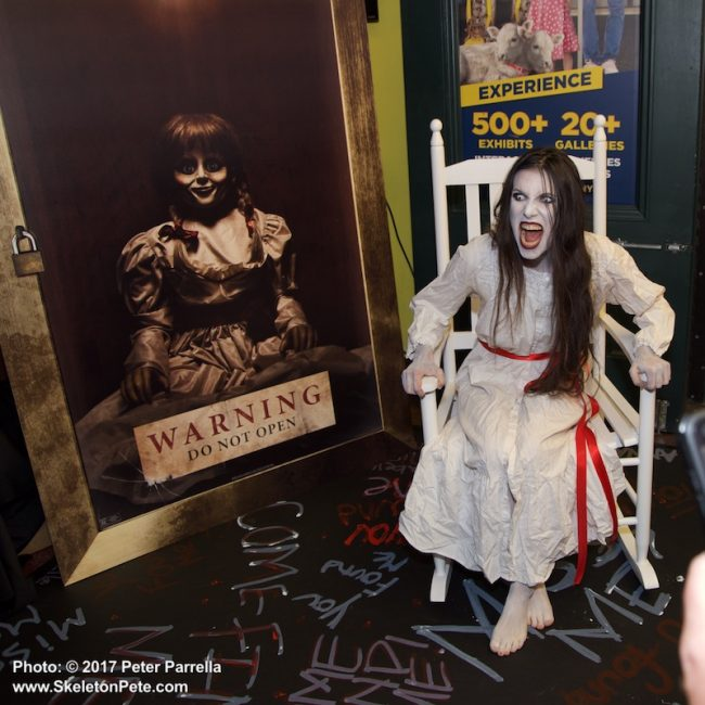 annabelle, ripleys believeit or not, the conjuring, mezco toyz