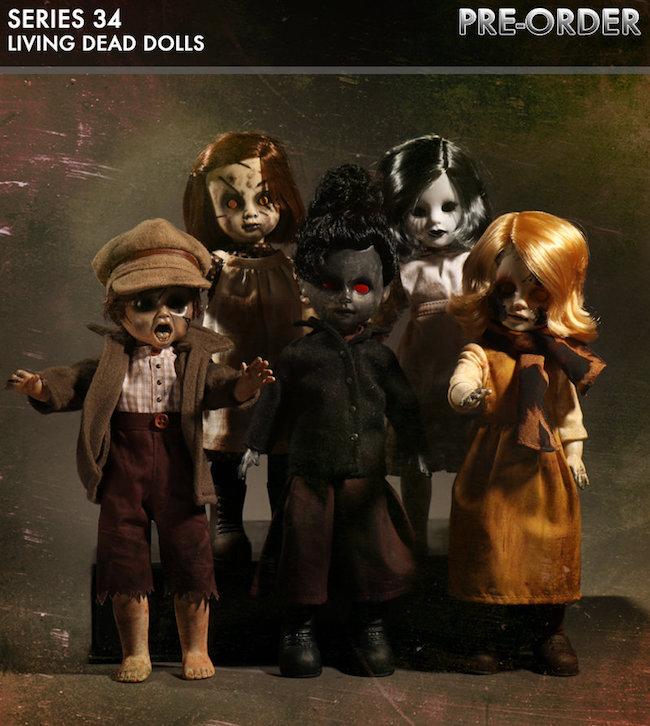 halloween, mezco toyz, toothy fairy, living dead dolls, LDD