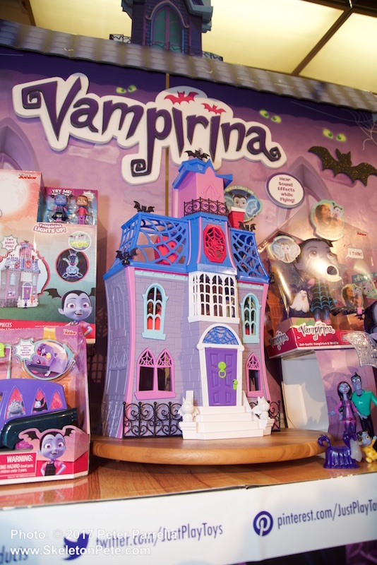 Vampirina and her BFF's will be right at home in Just Play's Scare B&B doll house.