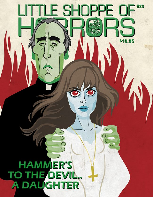 to the devel a daughter, christopher lee, nastassja kinsky, little shoppe of horros magazine