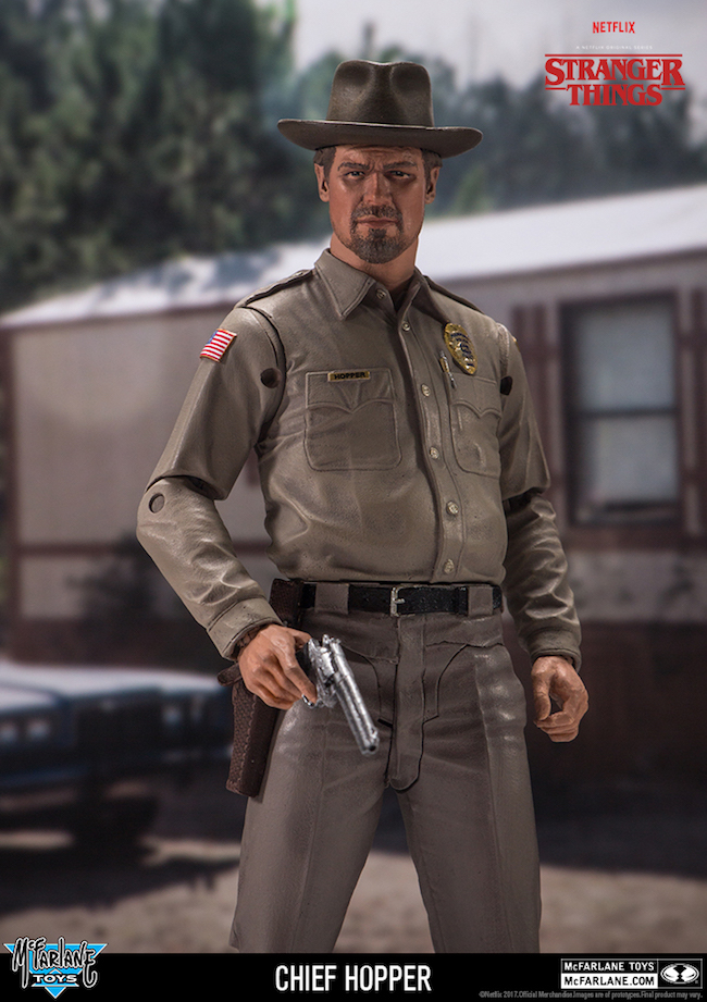 mcfarlane toys, stranger things, netflix, chief hopper
