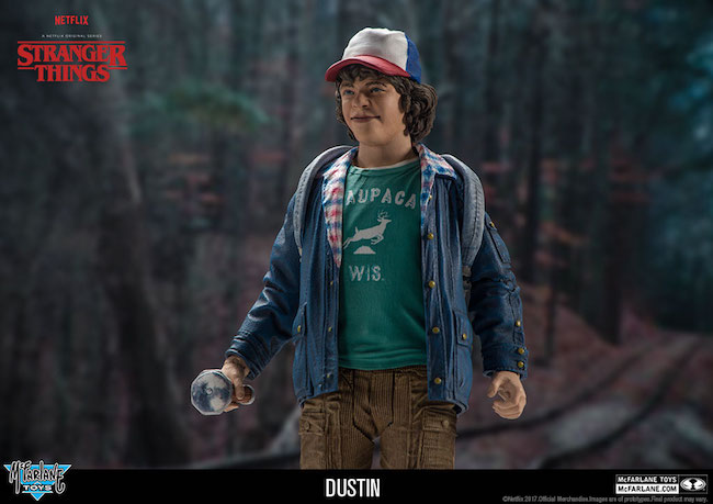 mcfarlane toys, stranger things, netflix, dustin
