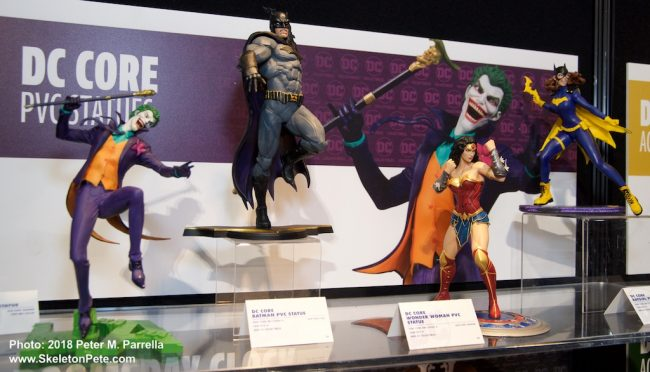 the joker, rick baker, dc collectibles, dc bombshells, batgirl, batman, Wonder Woman, pic statues
