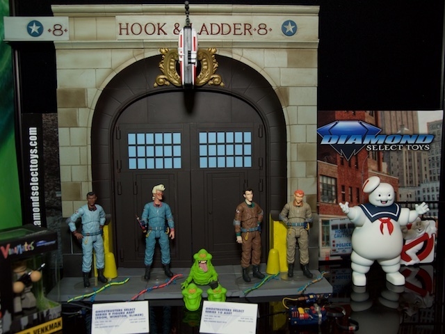 diamond select toys, ghostbusters, real ghostbusters