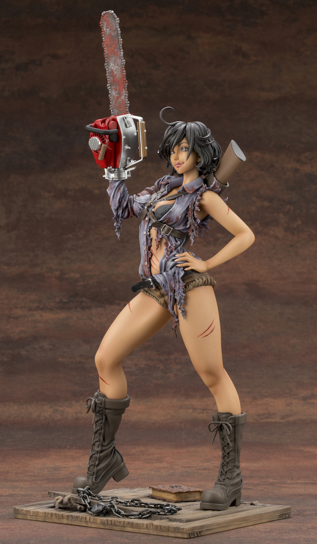 kotobukiya, bishoujo, moe, anime, ash williams, evil dead