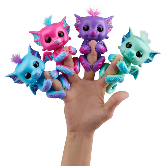 wowwee, fingerlings, baby dragons