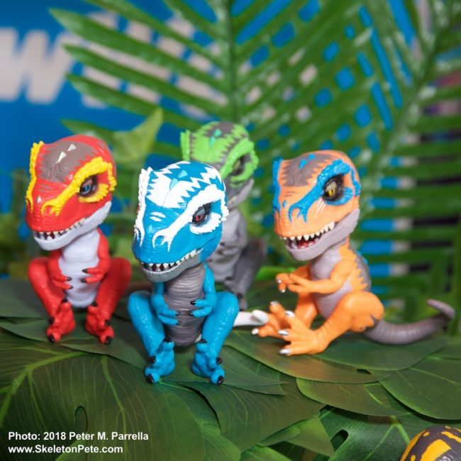 wowwee, untamed, t-rex, fingerlings