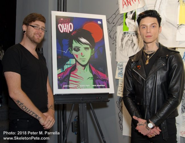 Andy black, Erick Donovan, z2 comics, ghost of Ohio