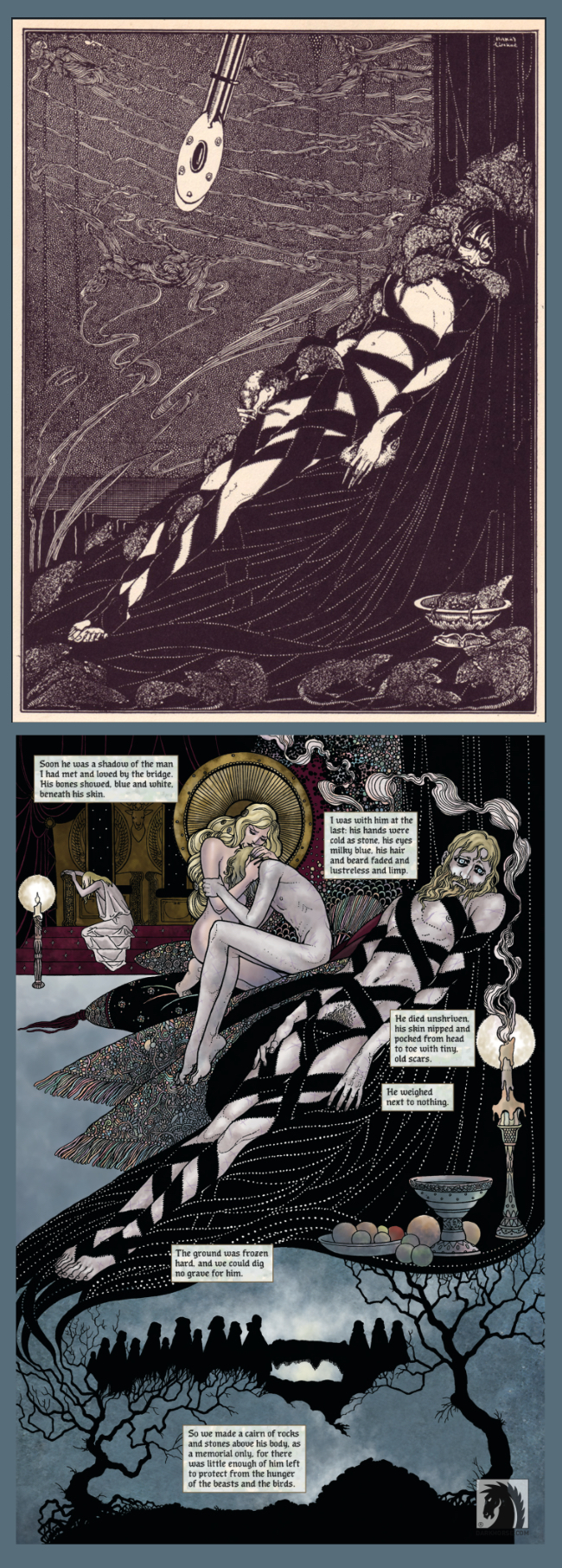 dark horse comics, neil gaiman, colleen doran, snow glass apples, graphic novels