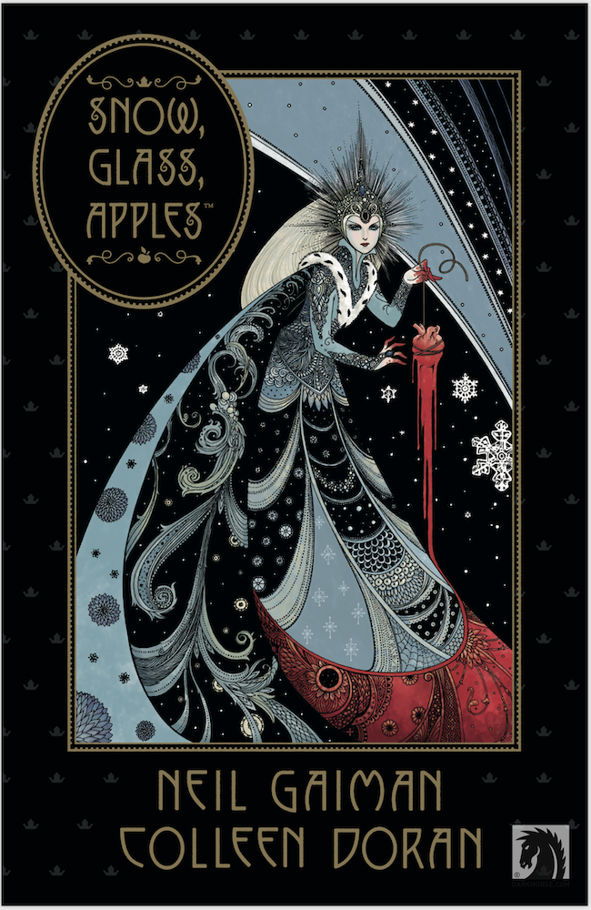 dark horse comics, neil gaiman, colleen doran, snow glass apples
