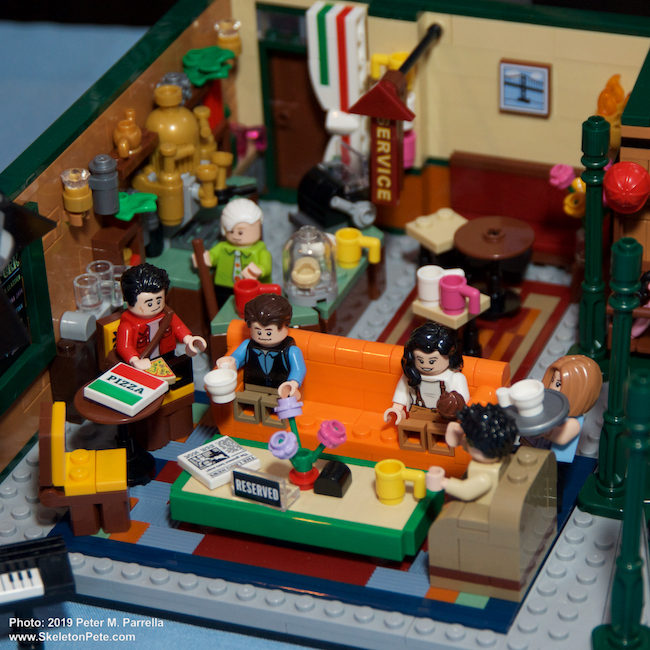 lego, friends, harry potter, central perk