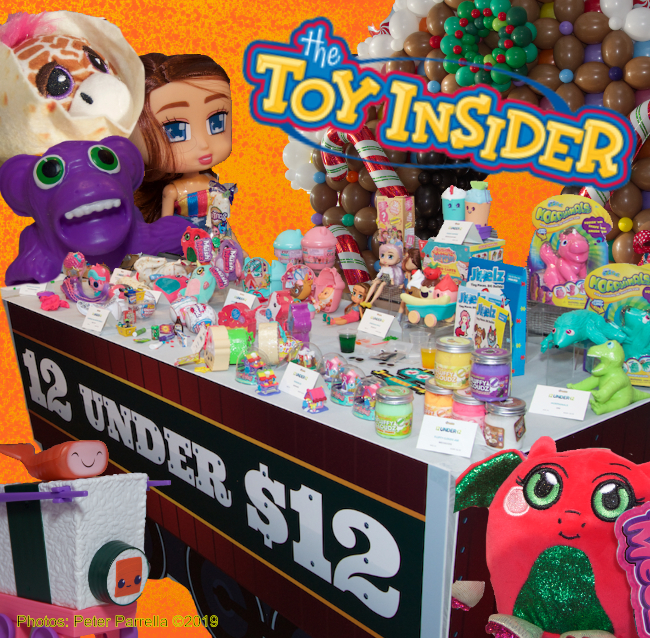 the toy insider, holiday of play, 12 under $12