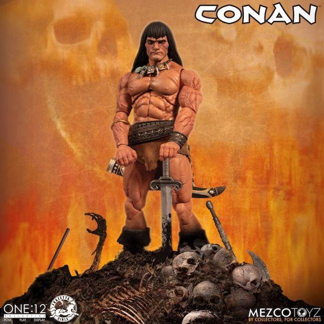 Mezco, Frazetta, Frazetta Girls, Conan, one12 collective
