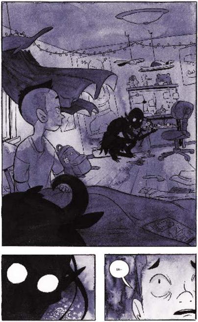 Cullen Bunn, Cat Farris, the ghoul next door, harper collins publishing