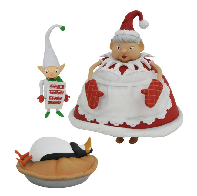 nightmare before christmas, diamond select toys, nix, Tim Burton